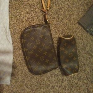 authentic LV hand bag